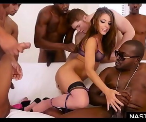 Interracial DOUBLE anal..