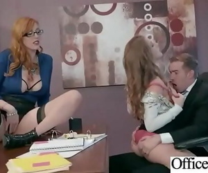 Office Sex With Sluty Thick..