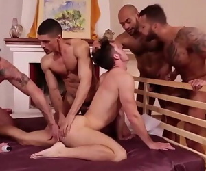 Hot gay guys orgy 15 min 720p