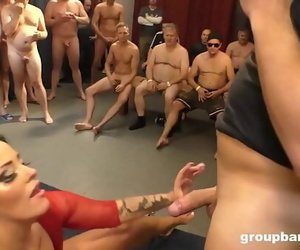 Ashley Cumstar Groupbanged..
