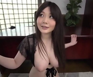 Rie Tachikawa gives head..