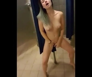 Naked Masturbation in Public..