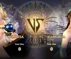 Nude Calibur 6: Sophitia vs..