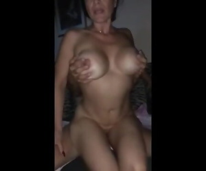 Hubby Records his Wifey..