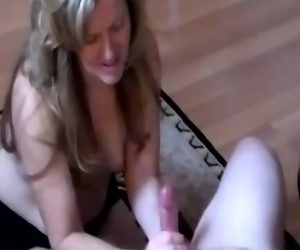 Wonderful Housewife Giving..