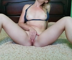 Alone at Home Masturbating..