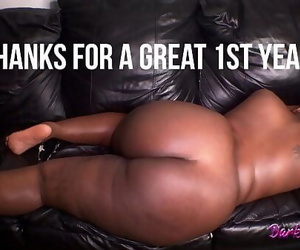 Fat Ebony BBW Beaver Gets..