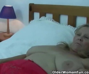Granny with Big Tits Gets..